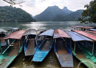 Bến thuyền du lịch Hồ Ba Bể Bắc Kạn