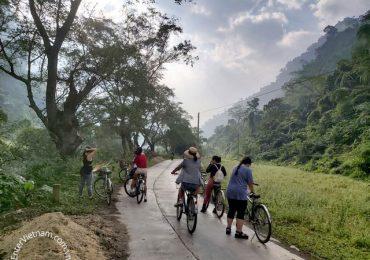 Tour xe đạp hồ Ba Bể tỉnh Bắc Kạn