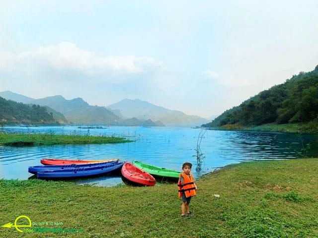 Huyện Đà Bắc điểm du lịch hấp dẫn tại Hòa Bình